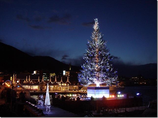 函館 クリスマスツリー