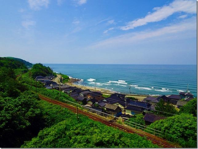 秋田県 日本海 羽越本線