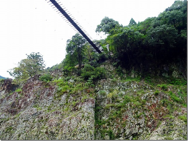 瀞峡 山彦橋