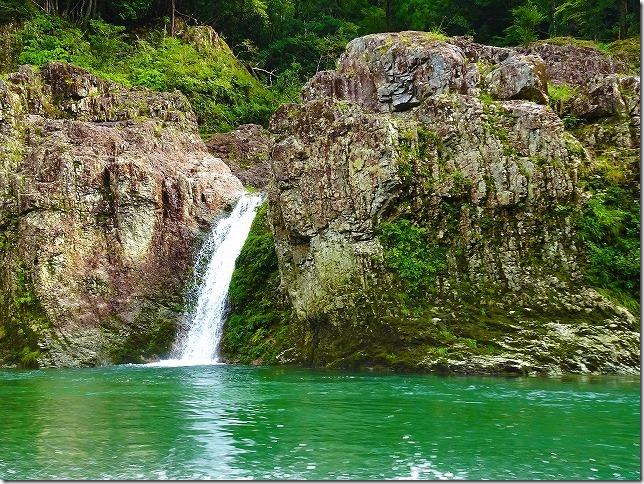 瀞峡 母子の滝