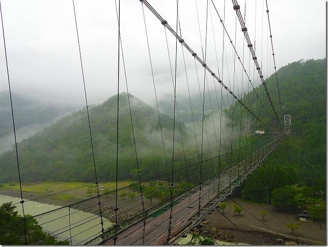 谷瀬(たにぜ)の吊り橋