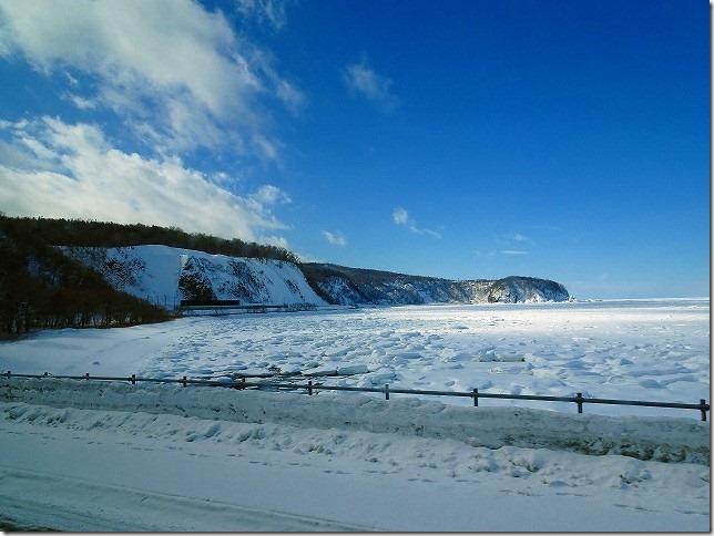 オホーツク海 流氷
