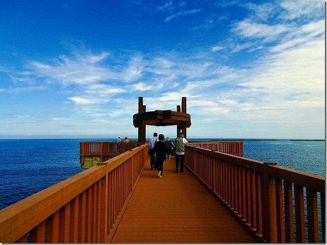 越後出雲崎 天領の里 夕凪の橋