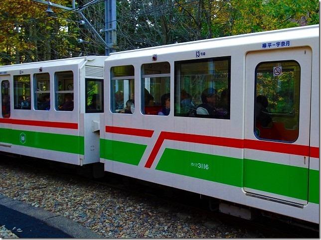 黒部渓谷トロッコ列車 リラックス客車