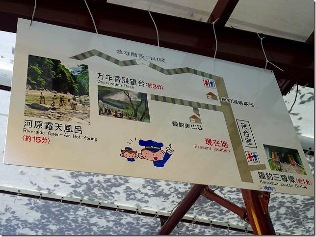 黒部渓谷トロッコ列車 鐘釣(かねつり)駅