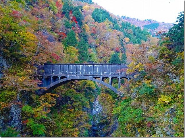 黒部渓谷トロッコ列車 水路橋