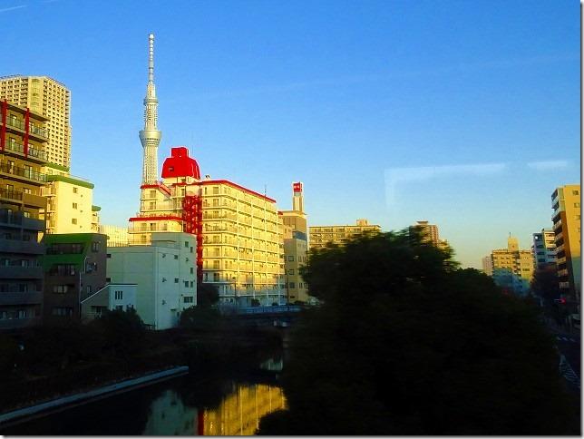 成田エキスプレス 東京スカイツリー
