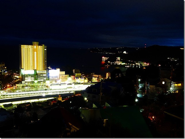 熱海望洋館(静岡県 熱海市)夜景