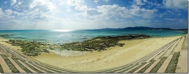 奥武島 畳石