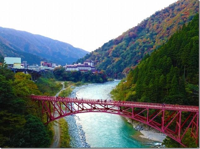 黒部渓谷トロッコ列車 山彦橋