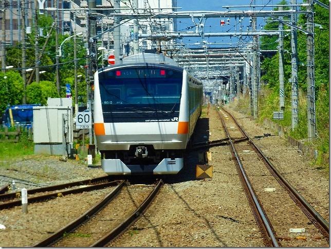 青梅線 西立川駅