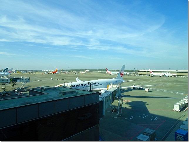 成田空港 JL66 サンディエゴ