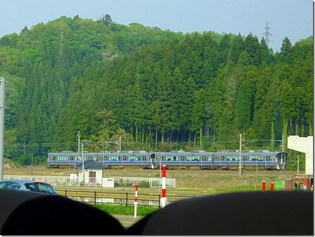 北陸本線 大聖寺駅(石川県 加賀市)付近