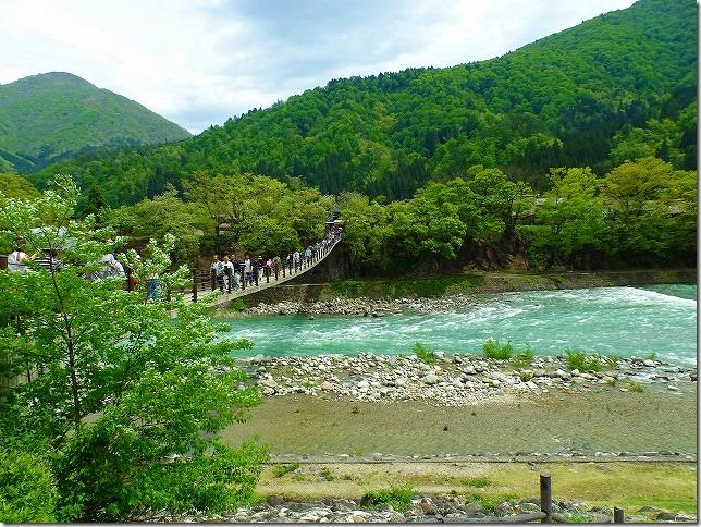 白川郷(岐阜県)であい橋