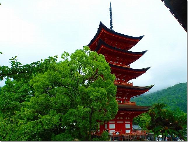 宮島(嚴島)五重塔