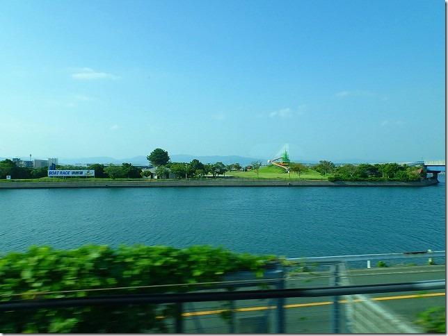 東海道新幹線 浜名湖