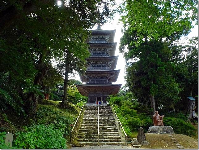 妙成寺(石川県 羽咋市) 五重塔