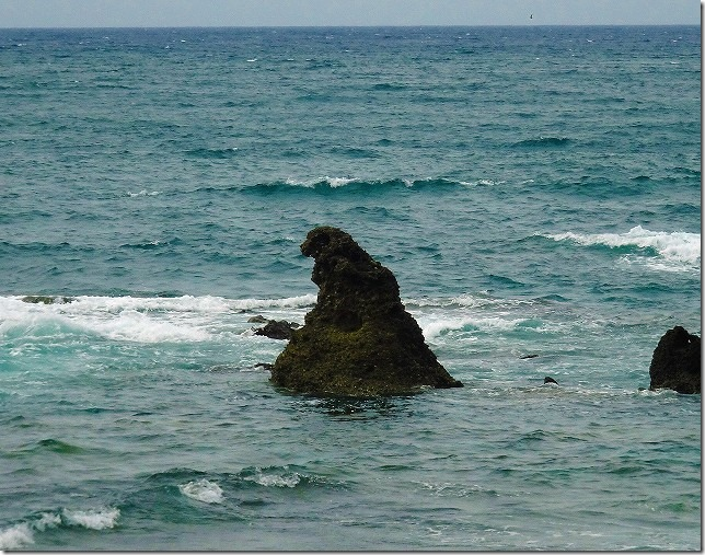 ゴジラ岩(石川県 珠洲(すず)市)