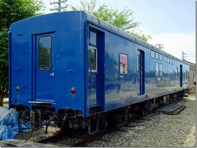 のと鉄道 七尾線 能登中島駅 郵便車(オユ10)