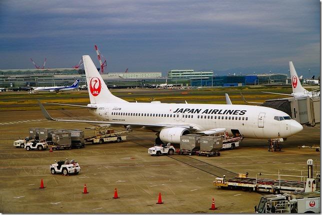 JL 585便 羽田 函館