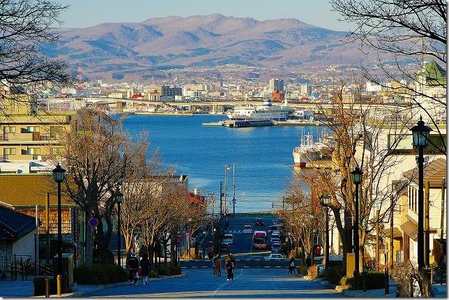 八幡坂 北海道 函館市