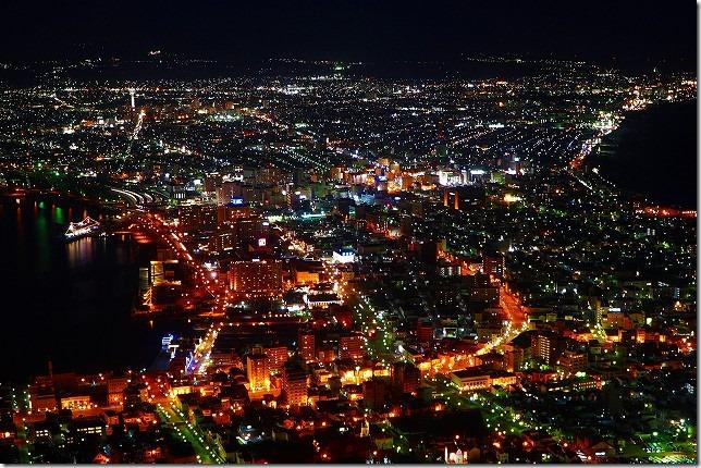 函館山 夜景 北海道 函館市
